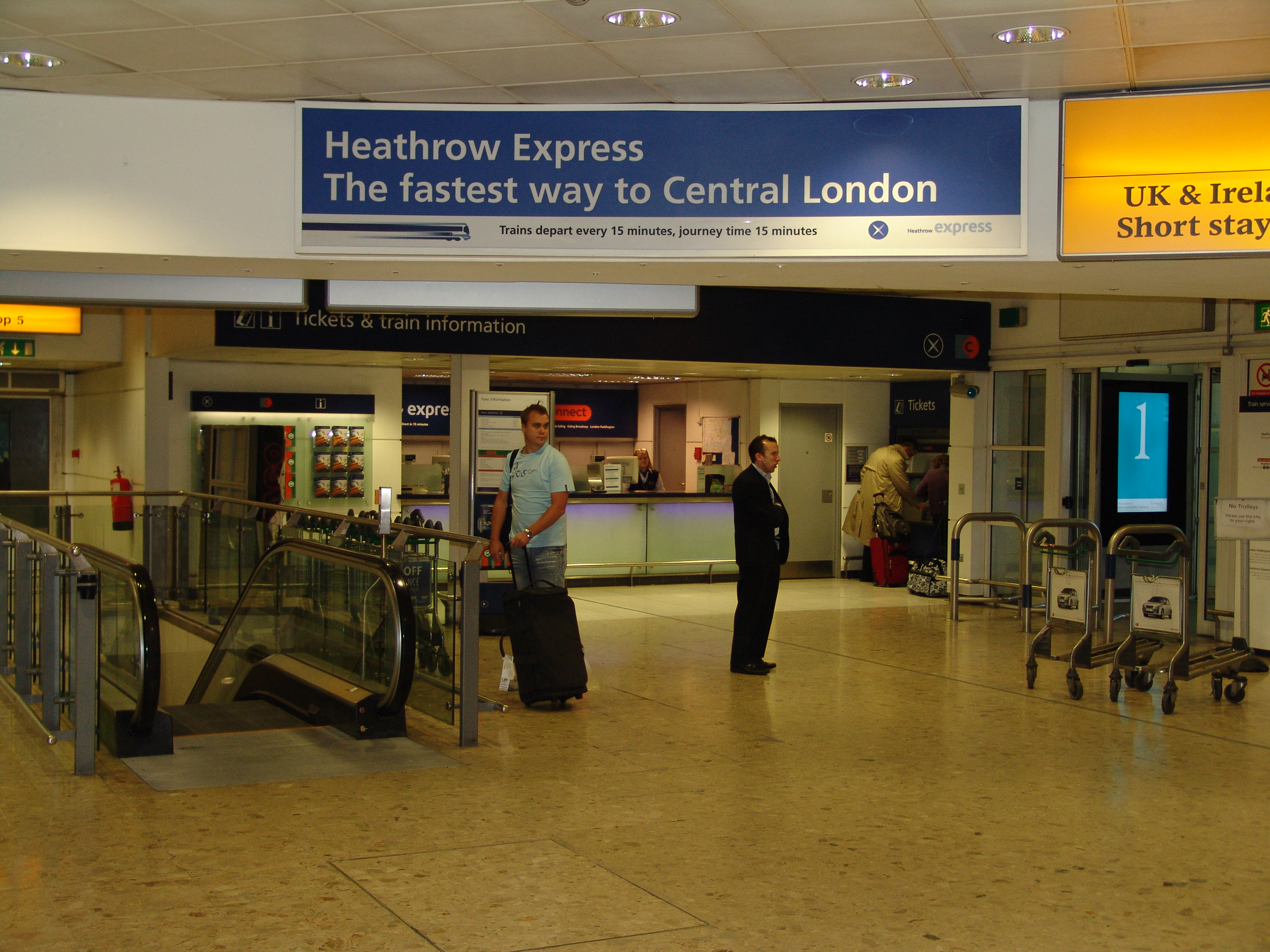 Enterprise Car Rental Return Heathrow Airport