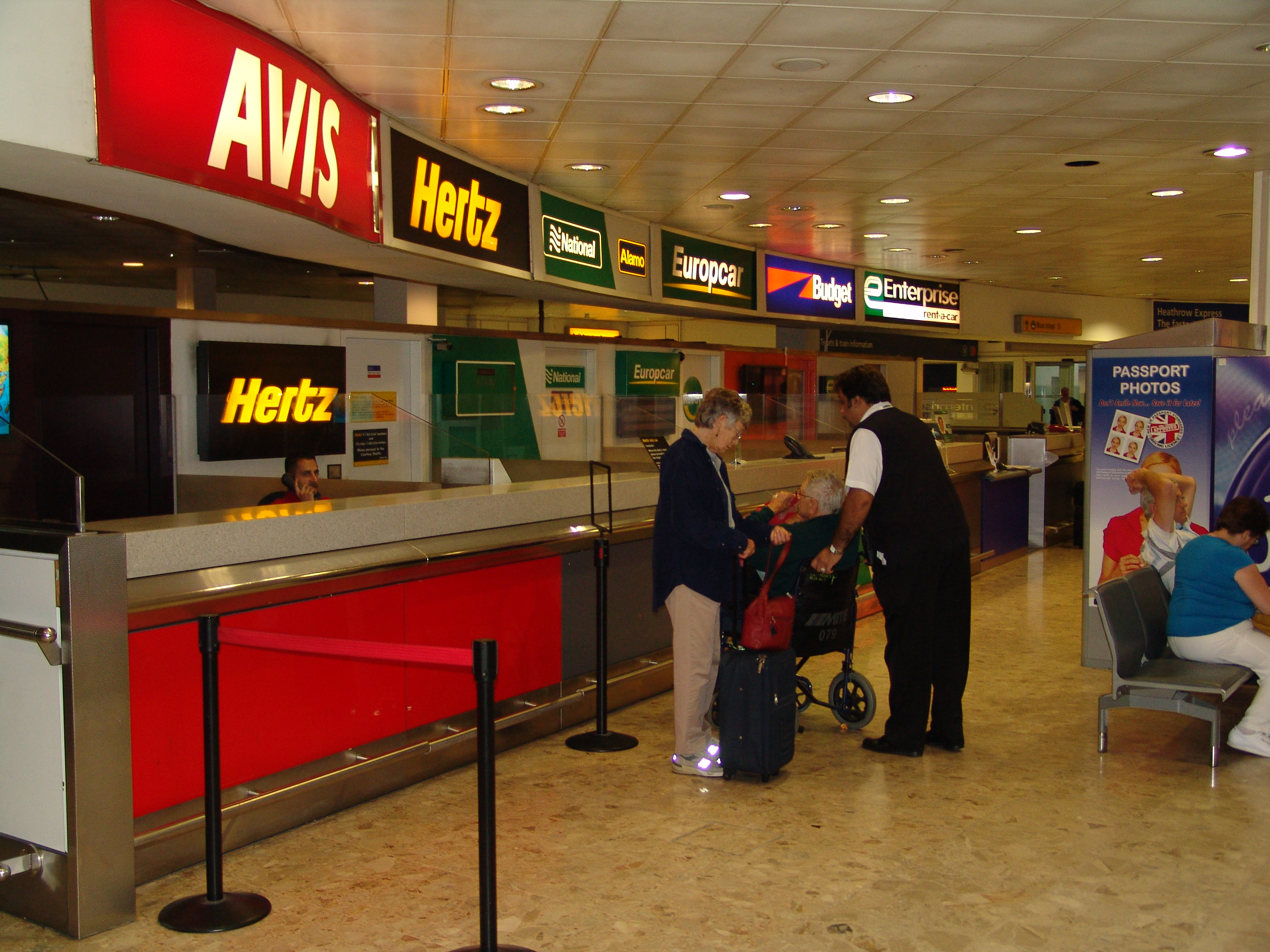 Avis Car Rental London Airport